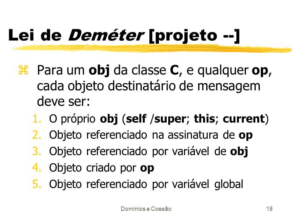 Lei de Deméter [projeto --]